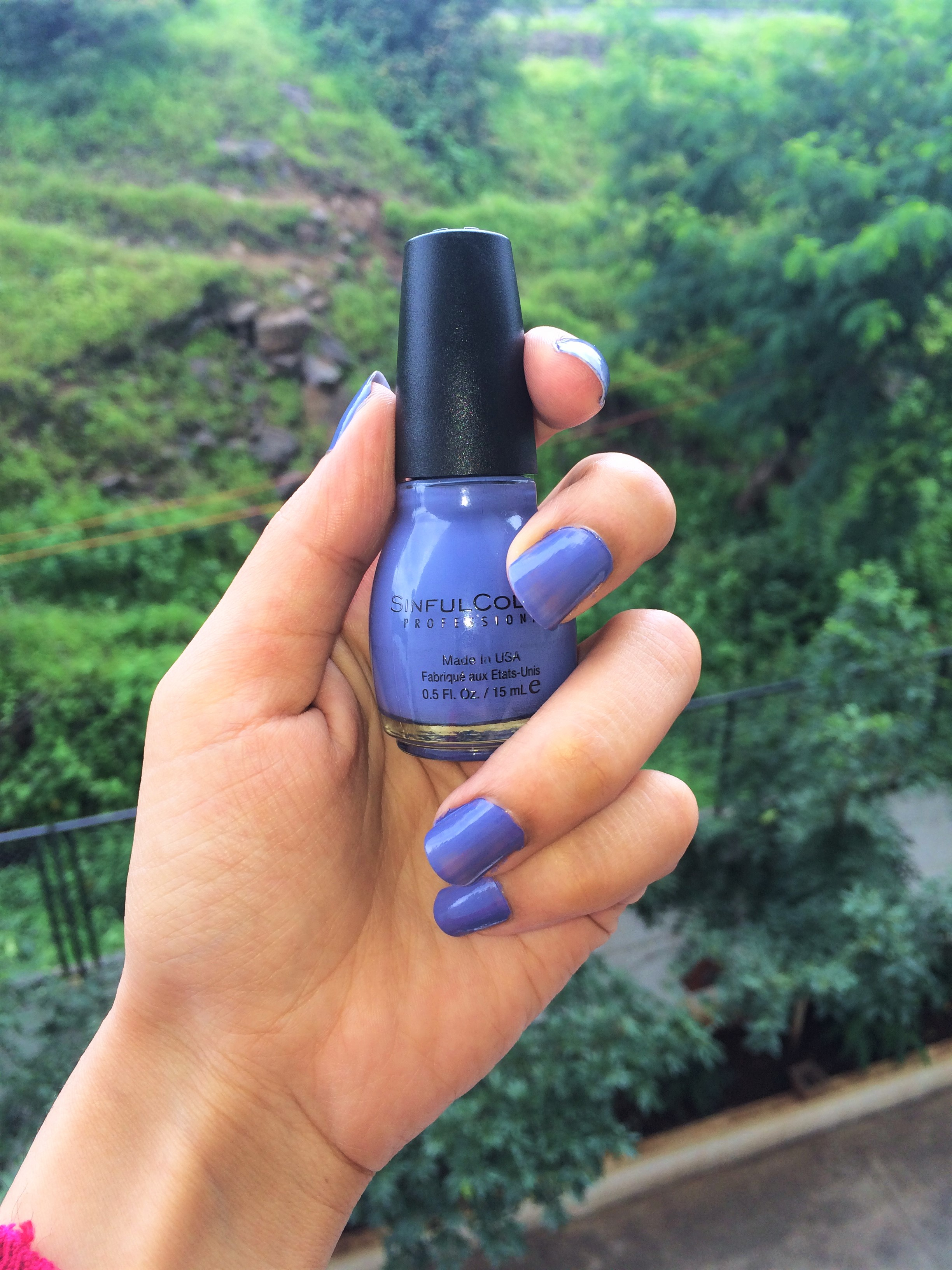 Product Review : Sinful Colors Blue lala Nail Color – Art Of Style